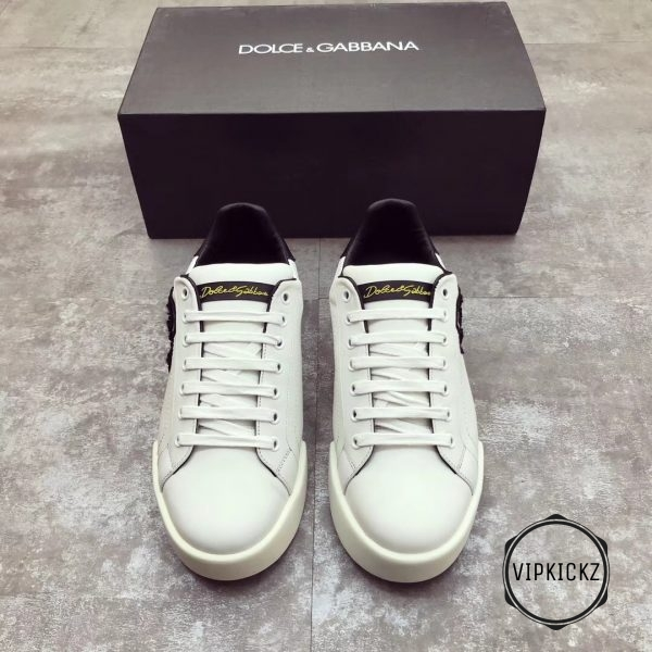 Calfskin Nappa Portofino Sneaker with Patch - DLGB1002-2