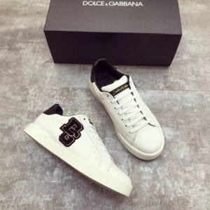 Calfskin Nappa Portofino Sneaker with Patch - DLGB1002-3