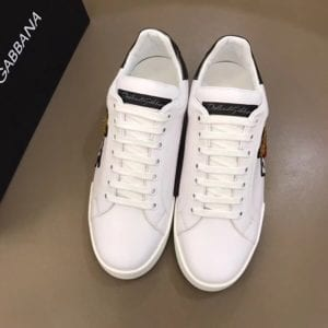 Calfskin Nappa Portofino Sneaker with Patch - DLGB1003-3