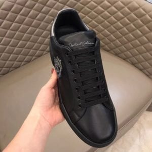 Calfskin Nappa Portofino Sneaker with Patch - DLGB1004-3