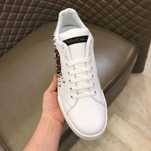 Calfskin Nappa Portofino Sneaker with Patch - DLGB1006-3