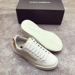 Calfskin Nappa Portofino Sneaker with Patch - DLGB1008-1