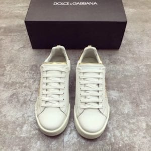 Calfskin Nappa Portofino Sneaker with Patch - DLGB1008-3