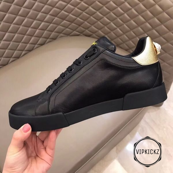 Calfskin Nappa Portofino Sneaker with Patch - DLGB1010-3
