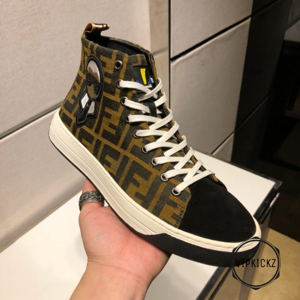 Fendi High Top Sneaker - FEND1006-1