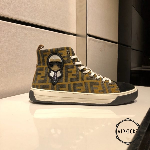 Fendi High Top Sneaker - FEND1006-2