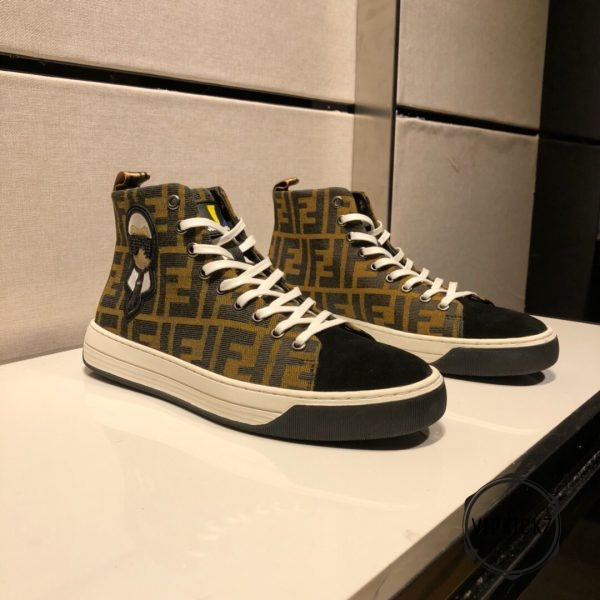Fendi High Top Sneaker - FEND1006-3