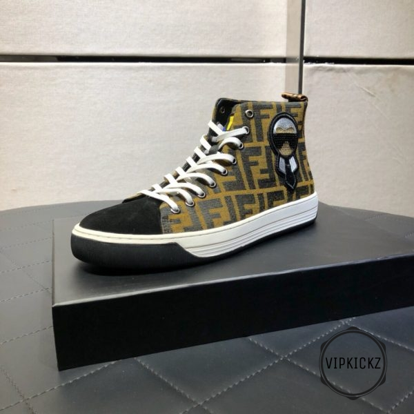 Fendi High Top Sneaker - FEND1006-4
