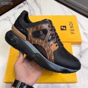 Fendi Brown Trainer - FEND1011-1