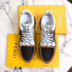 Fendi White Trainer - FEND1012-2