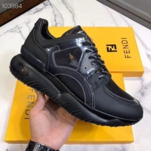 Fendi Black Trainer - FEND1013-1