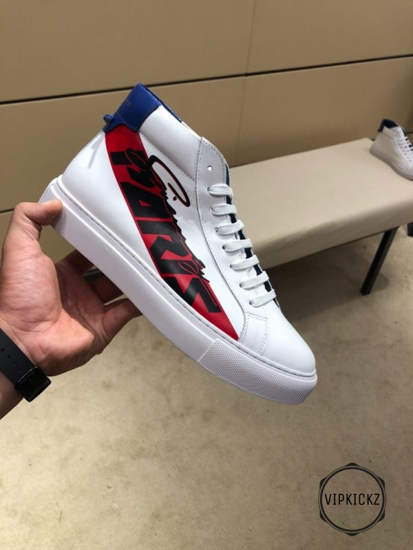 Givenchy High Sneaker Leather - GVCY1014-1